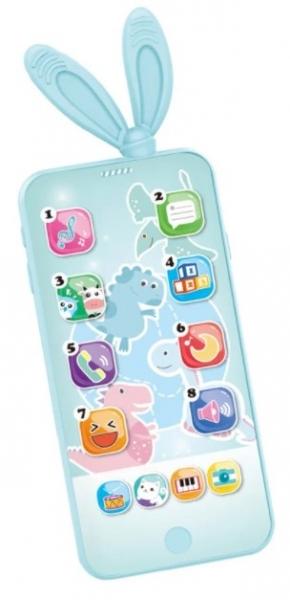 Tulimi Interaktivní hračka s melodií - Smart Phone, tyrkysový