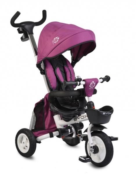 Byox Dětská Tříkolka Flexy Lux - fialová