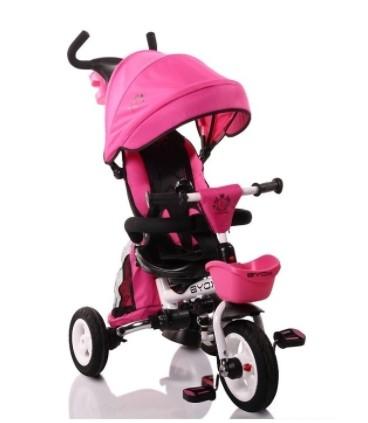 Byox Dětská Tříkolka Flexy Lux - růžová