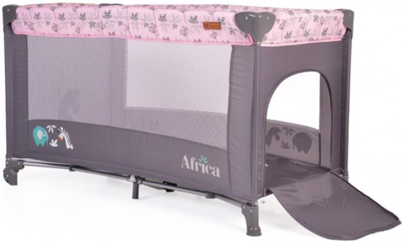 Moni Dětská ohrádka Africa - růžová
