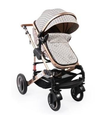 Moni Dětský sportovní kočárek 2v1, Gala premium 2021 -  ječmen
