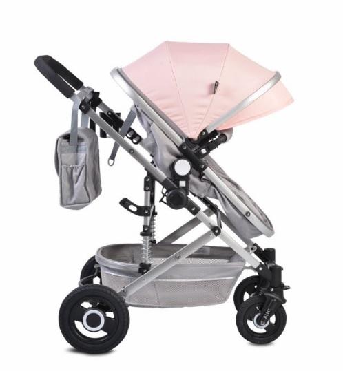 Moni Dětský sportovní kočárek 2v1, Ciara 2021 pink