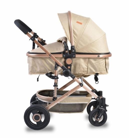 Moni Dětský sportovní kočárek 2v1, Ciara 2021 beige