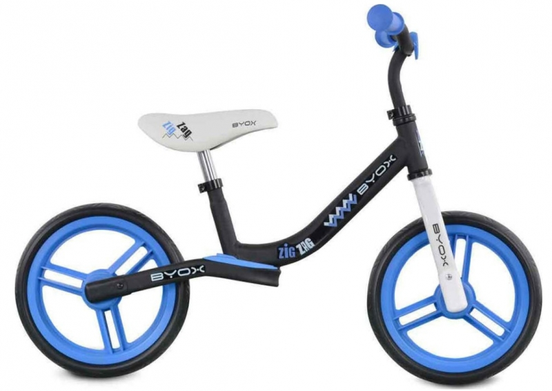 Moni Dětské balanční kolo Zig-Zag, modré