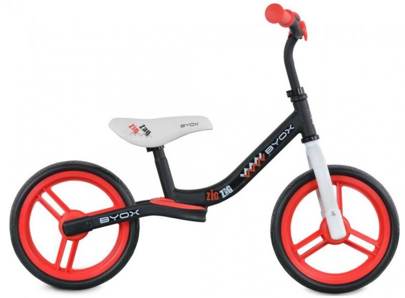 Moni Dětské balanční kolo Zig-Zag, červené
