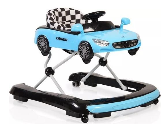 Cangaroo Dětské chodítko 2v1 Cabrio - modré