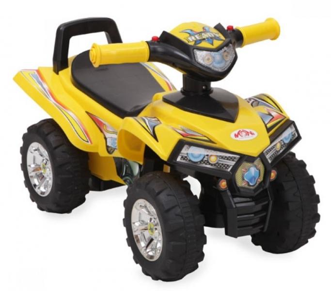 Moni Dětské odrážedlo, odstrkovadlo ATV 551 - žluté