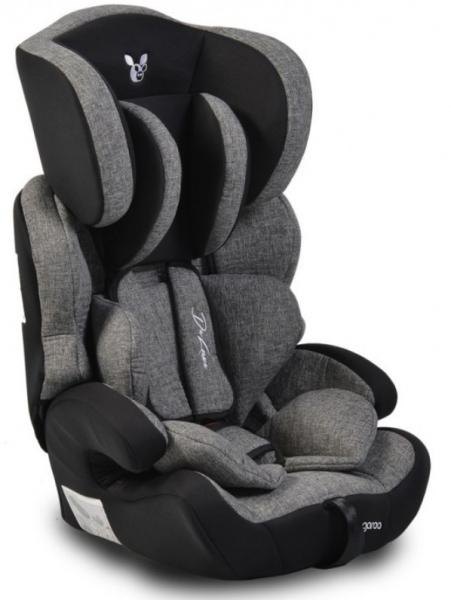 Cangaroo Autosedačka Deluxe 2021,  9-36kg - tmavě šedá