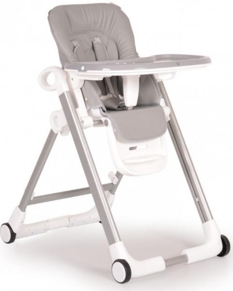 Cangaroo Dětská  jídelní židlička Brunch - šedá