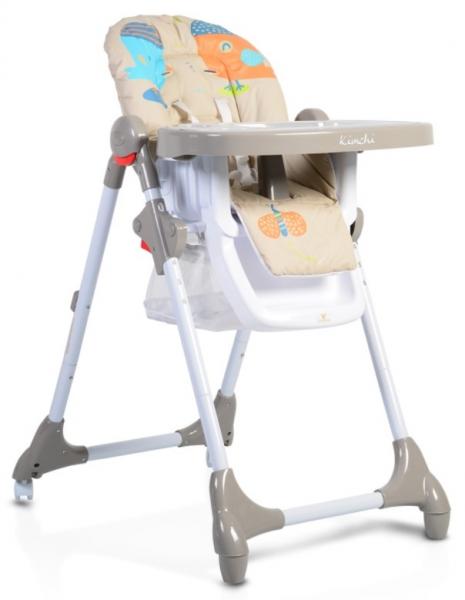 Cangaroo Dětská  jídelní židlička Kimchi - khaki