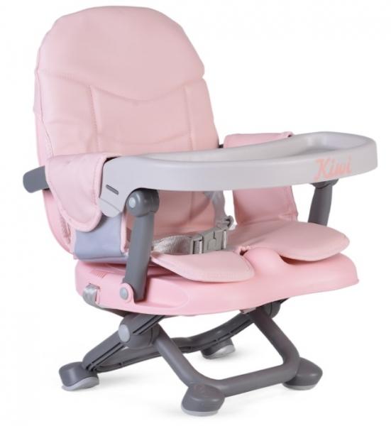 Cangaroo Dětská  jídelní židlička Kiwi - růžová
