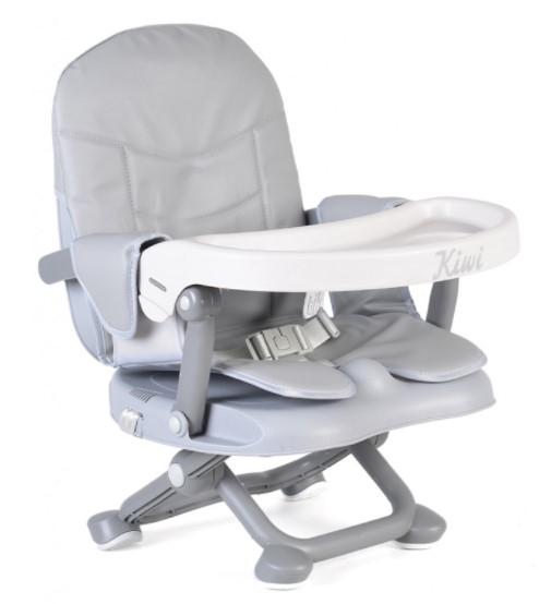 Cangaroo Dětská  jídelní židlička Kiwi - šedá