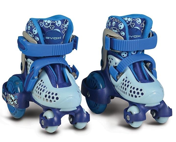Moni Kolečkové brusle Little Beetle Boy, vel. XS (26-29), modré
