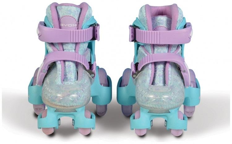 Moni Kolečkové brusle Little Beetle Frozen, vel. XS (26-29), modré
