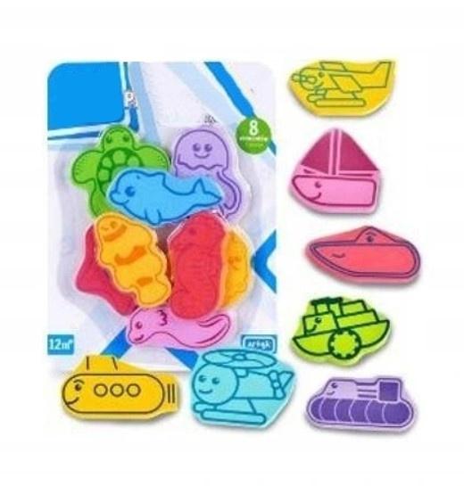 Tulimi Pěnové hračky do koupele - 8 ks
