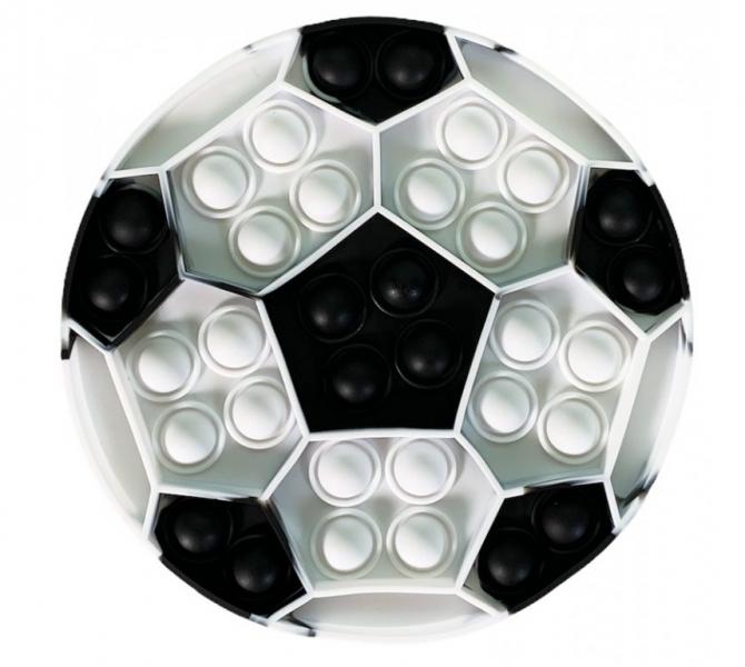 Pop It - Praskající bubliny, silikonová, antistresová spol. hra, Míč