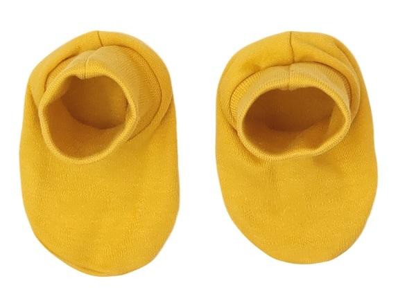 Mamatti Kojenecké botičky, ponožtičky Hero, hořčicové