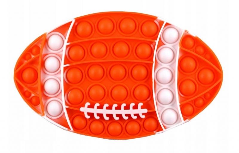 Pop It - Praskající bubliny, silikonová, antistresová spol. hra, Ragby