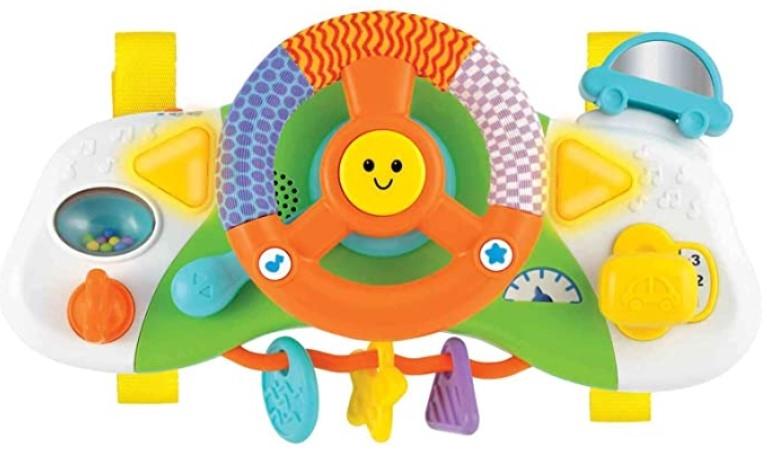 Winfun Interaktivní hračka - Volant, škola bezpečné jízdy