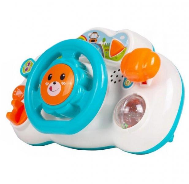Tulimi Interaktivní hračka - Volant, Lev - modrý