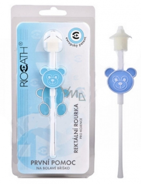 Riocath Rektální rourka pro kojence, modrá