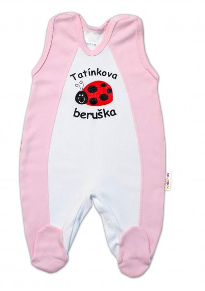 DEJNA Dupačky Kolekce - Beruška - Tatínkova beruška, růžové
