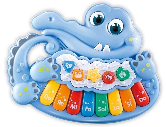Piánko - Krokodýl, modré