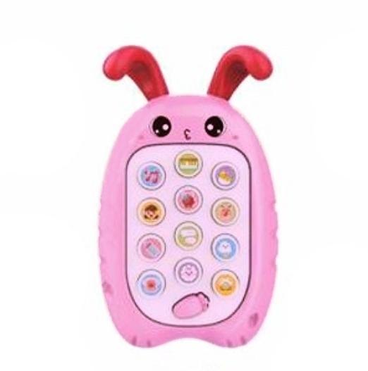Tulimi Interaktivní hračka, My smart phone, Králiček, růžový
