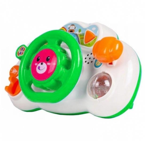 Tulimi Interaktivní hračka - Volant, Lev - zelený