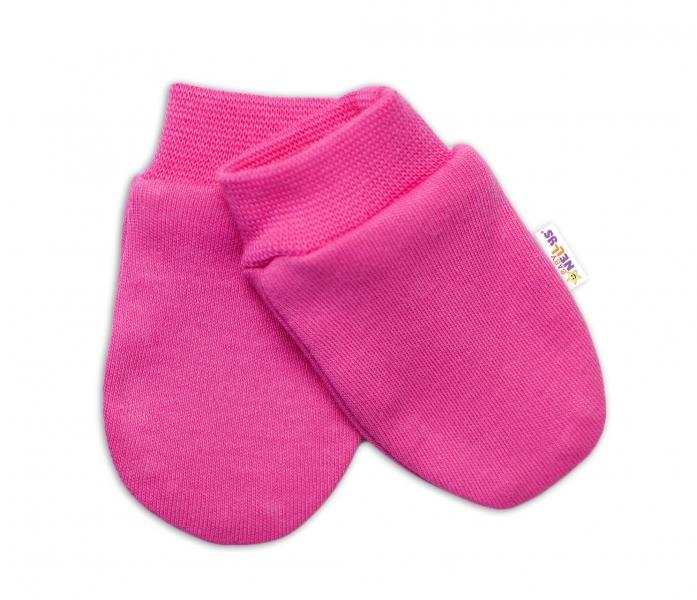 Baby Nellys Kojenecké rukavičky Sweet Little Princess, růžové