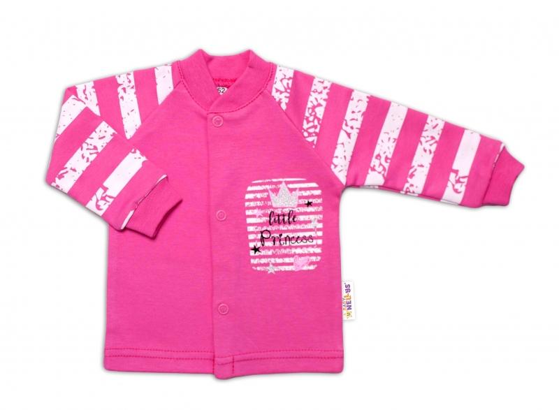 Baby Nellys Bavlněná košilka Sweet Little Princess, růžová, vel. 62