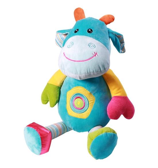 Edukační plyšová hračka Baby Ono - Kravička velká