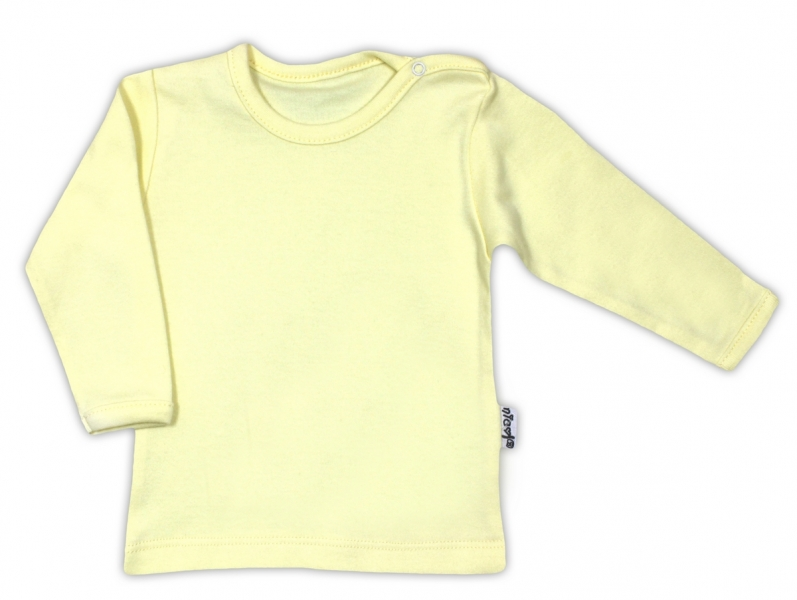 Bavlněná košilka - žlutá, vel. 68, Velikost: 68 (4-6m)