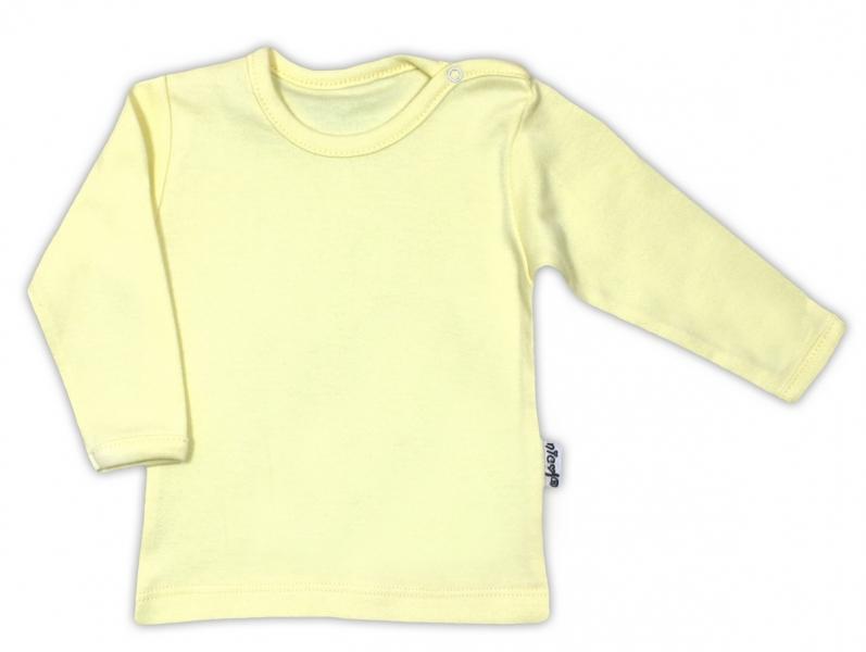 Bavlněná košilka - žlutá, vel. 80, Velikost: 80 (9-12m)