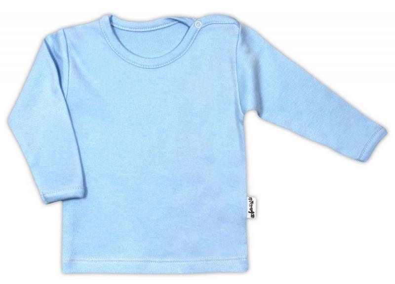 Bavlněná košilka - modrá