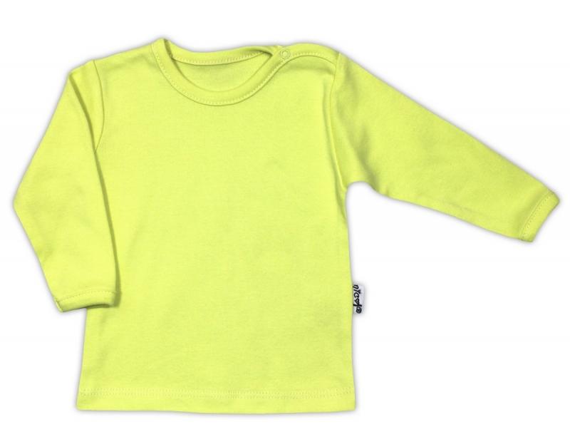 Bavlněná košilka - zelená, VEL. 80, Velikost: 80 (9-12m)