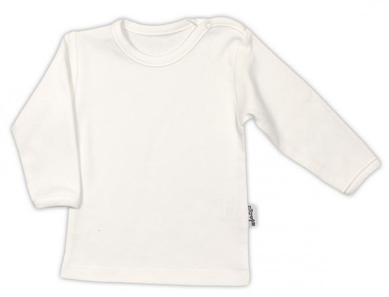 Bavlněná košilka - ecru, vel. 80, Velikost: 80 (9-12m)