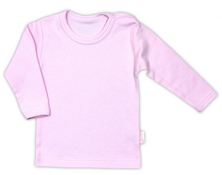 Bavlněná košilka - růžová, vel. 80
