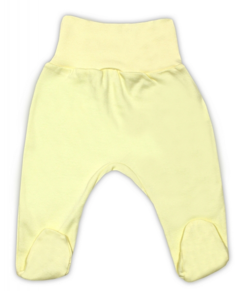 Bavlněné polodupačky - žluté, vel. 80