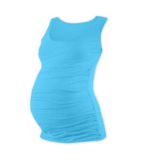 Těhotenský top JOHANKA - tyrkys