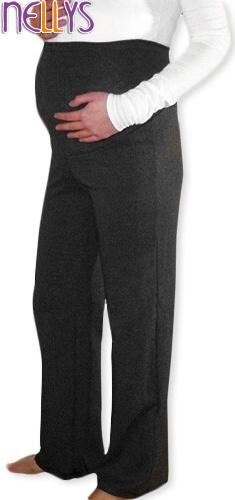 Těhotenské tepláky - černé, Velikost: XL