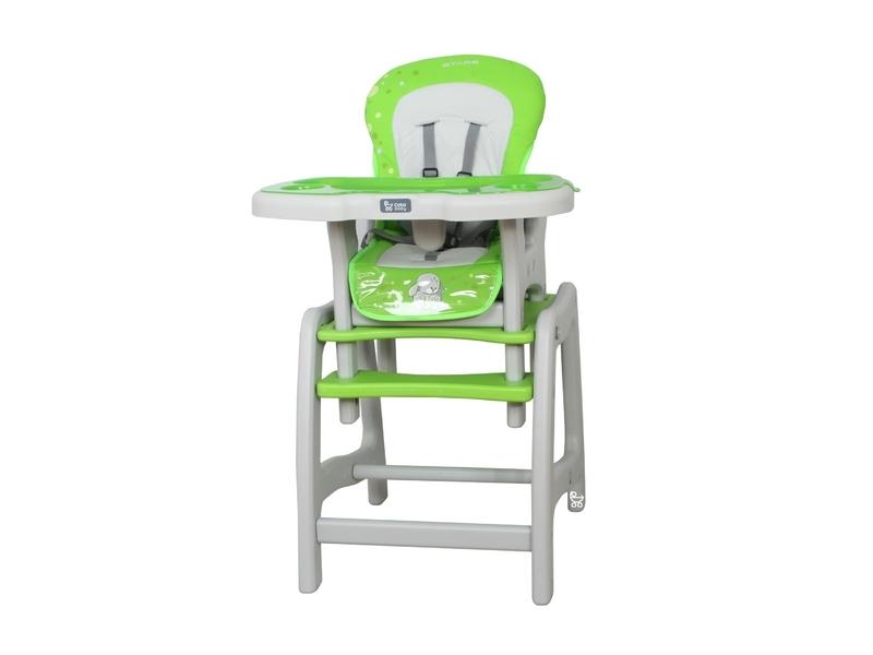 Jídelní stoleček Coto Baby STARS green (barva: Green - color 05)