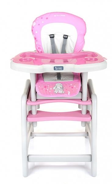 Jídelní stoleček Coto Baby STARS pink