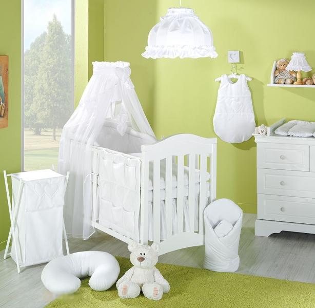 Lustr do dětského pokojíčku - Srdíčko bílé