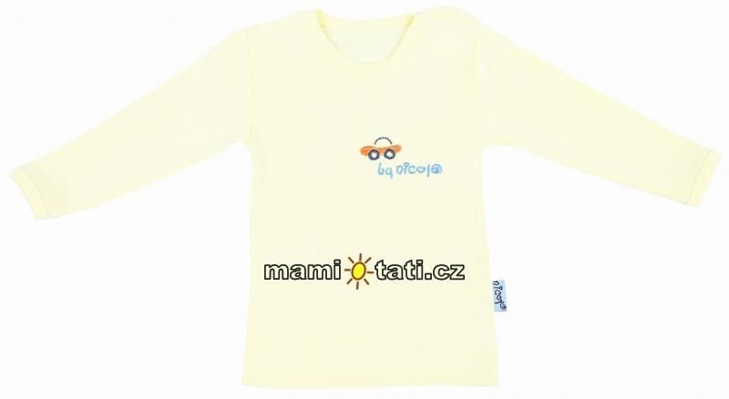 Bavlněná košilka/podkošilka - Car Nicol 1072, DOP.,vel. 80, Velikost: 80 (9-12m)