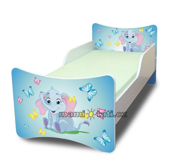 Dětská postel Sloník