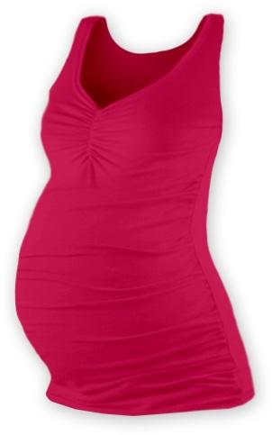 JOŽÁNEK Těhotenský topík JOLANA - sytě růžová