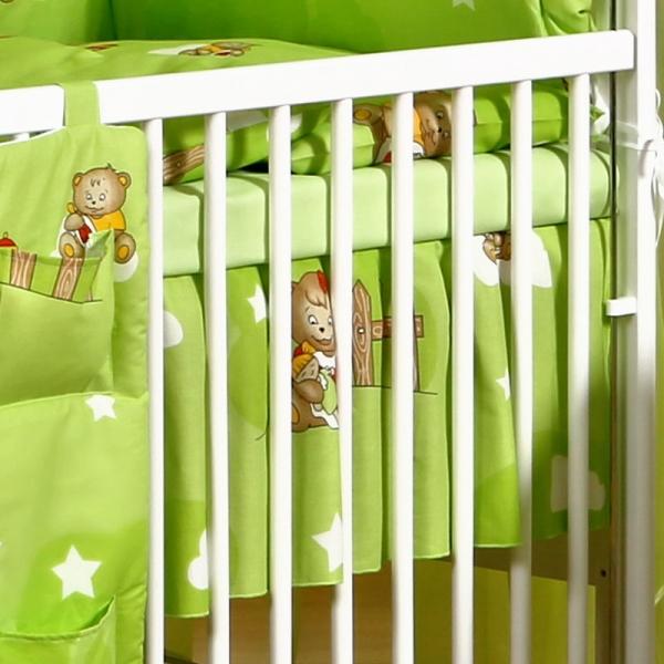 Volánek pod matraci Míša Love v zeleném