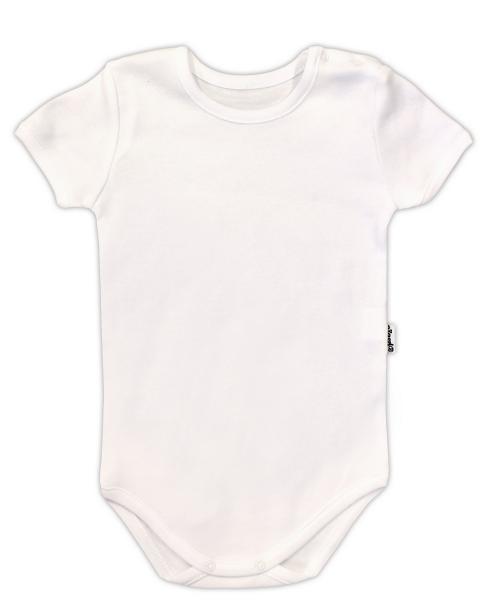 Body krátký rukáv  NICOL - bílá, vel. 92, Velikost: 92 (18-24m)