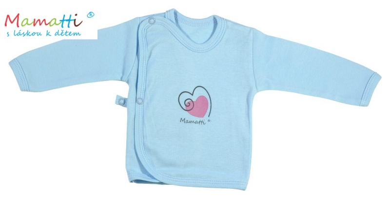 Bavlněná košilka Mamatti - Kočičky